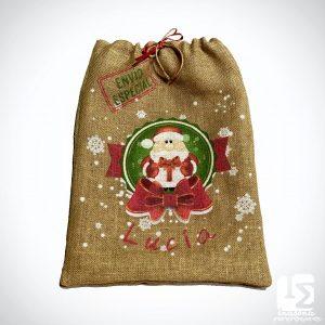Saco Navideño Papa Noel